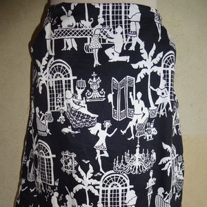 Womens Lilly Pulitzer Skirt Late Night Toile 4
